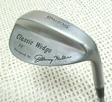 """SPALDING ~ CLASSIC WEDGE 58* Degree by Johnny Miller 35.5"""" RH ~ Steel Shaft"""