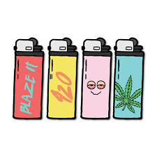 420 Weed Lighters Decal 420 Dope Car Funny #7673NM