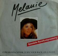 "7"" 1988 RARE IN VG++ ! MELANIE : Racing Heart"