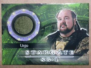 Stargate SG-1 Costume Card - C33 Dom DeLuise as Urgo