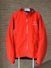 Waterproof Jacket ARCTERYX GORE-TEX Paclite Shell men's red Size M