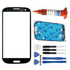 For Samsung Galaxy S3 SIII i9300 Front Touch Screen Glass Lens Replacement +Tool
