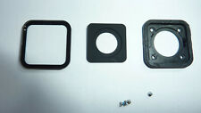 Gopro Hero 8 Black, Glass Lens cover assembly with screws & Front cover.