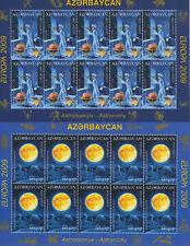 EUROPA CEPT 2009 ASTRONOMIE - ASERBAIDSCHAN AZERBAIJAN 758-59 A KLEINBOGEN **