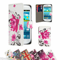 WALLET PU LEATHER CASE COVER For Samsung Galaxy Mini S5570