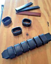 Leather Keepers Running Loops for Bridles Repair Spare Black Dark Havana