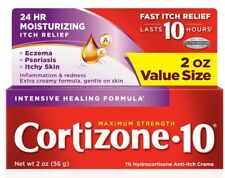 New Cortizone 10 Intensive Healing Anti-Itch Crème 2 OZ. Sale