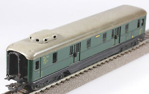 Märklin HO #346/4 DR 4 Axle Baggage Car, 1955 to 1956