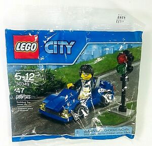 Lego City Sports Car Minifig Polybag Racing Convertible Brick 30349 New Sealed