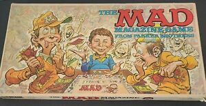 Vintage The Mad Magazine Board Game Parker Brothers 1979 Complete!