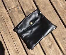 Langlitz leather pouch bag leathers travel motorcycle biker adventure dopp kit
