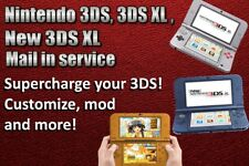 Supercharge Customize mod your Nintendo 3DS / 2DS series system Mail in service
