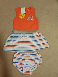 BNWT Tuc Tuc Baby Girl's Vestido Punto Dress Age 18M RRP £25