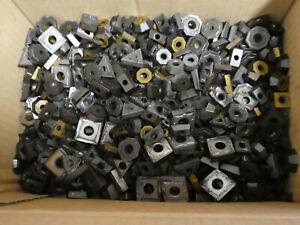 VHM Schrott ca. 8,6 kg  Hartmetall Wendeschneidplatten