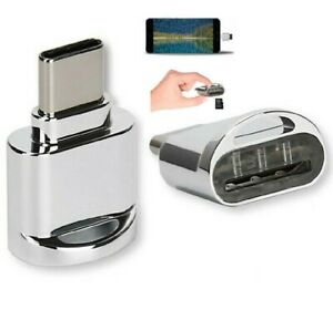 US Type C To Micro SD TF Card Reader OTG USB Adapter Converter For Samsung Phone