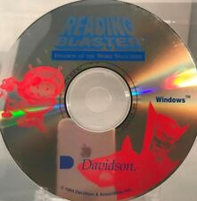 Reading Blaster Invasion of the Word Snatcher CD PC Game DISC ONLY #56A