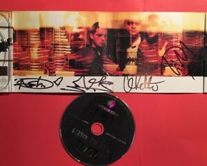 SIGNED Ash Free All Angels CD - Shine a light Burn baby Burn LP autograph