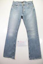 Lee Denver Bootcut (Cod. Y1542)Tg.47 W33 L36 jeans Vita Alta usato zampa Street
