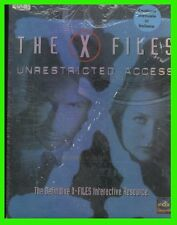 The X-FILES:Unrestricted Access pc cd-rom gioco manuale ITA big box NEW
