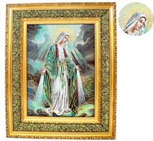 "Virgen la Milagrosa 17"" x 21"" Cushioned Print Image (Frame)"