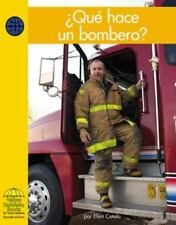 Que Hace un Bombero? = What Does a Firefighter Do? (Yellow Umbrella-ExLibrary