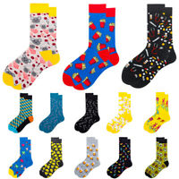 Women Men Funny Cotton Socks Crew Socks Novelty Cartoon Animal Socks Unisex 2019