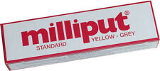 Milliput Standard Epoxy Putty | 2 Part | Yellow / Grey