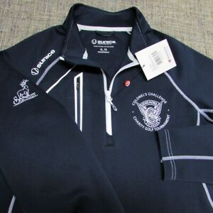 SUNICE POLY SPANDEX 1/4 ZIP GOLF PULLOVER--XL--CHARITY GOLF--UNWORN--NEW!TAGS!