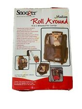 Snoozer Medium Roll Around - Pet Carrier RED COLOR