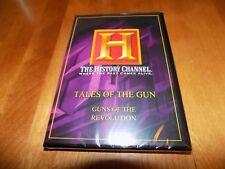 TALES OF THE GUN Guns of Revolution Revolutionary War History Channel DVD NEW