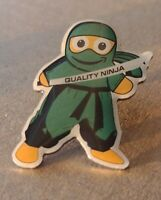 Green Quality Ninja Amazon Peccy Collector soft Enamel Pin Exclusive!!