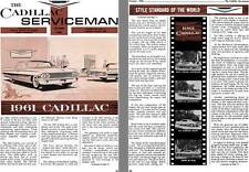 Cadillac 1960 - the Cadillac Serviceman Vol. XXXIV - No. 10 October 1960