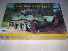 Italeri 272, 1:35, bt-5 Soviet light tank, nuevo, embalaje original,