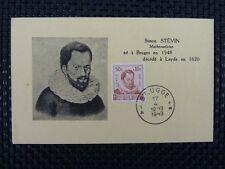 BELGIEN MK 1942 TUBERKOLOSE MAXIMUMKARTE CARTE MAXIMUM CARD MC CM a6696