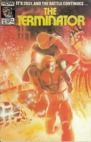 The Terminator Now Comics #13 October 1989 Comic Book Speed Racer Ghostbuster 2