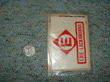 Charles Products flex-cote  decals S LGB large scale Erie Lackawanna D5