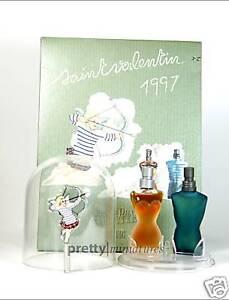 ☼Saint Valentin 1997 - Gaultier - Miniatur P & EDT 2x 3,5ml