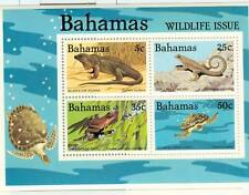 RETTILI & ANFIBI - REPTILE & AMPHIBIAN BAHAMAS 1984 blo