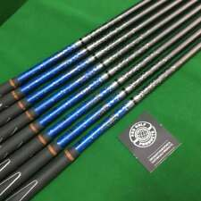 Pulled X2 Hot 5-PW + GW + SW Graphite Iron Shaft Set (8 shafts)