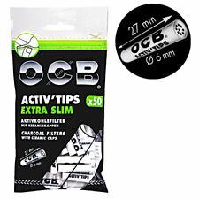 OCB Activ Tips extra Slim 6mm Aktivkohlefilter