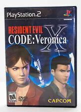 Resident Evil - Code: Veronica X Black Label PS2 (Sony PlayStation 2, 2002)