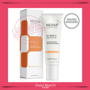 Neova DNA Damage Control Silc Sheer 2.0  SPF 40 74ml 2.5oz NEW SEALED FAST SHIP