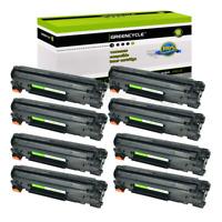 8 Pack CE278A 78A Laser Toner Cartridge for HP Laserjet Pro M1536dnf P1606dn
