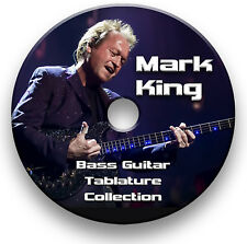 LEVEL 42 MARK KING BASS TAB TABLATURE SONG BOOK SOFTWARE CD