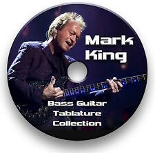 Marca de nivel 42 Rey Tablatura para bajo Tablatura canción libro CD de software