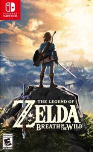 The Legend Of Zelda Breath Of The Wild - Jeu Nintendo Switch - Lire description