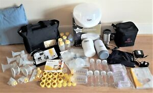 Big Bundle Medela Pump in Style Advanced with over 60 accessoriesSterilisers ..