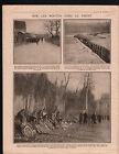 WWI Poilus Tranchées Bicyclette Bataille de la Marne /Tahure 1915 ILLUSTRATION