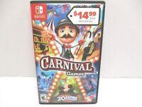 Carnival Games 2K Nintendo Switch Entertainment Family Game