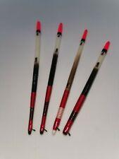Handmade Personalised Porcupine Stick Floats Vintage Traditional. Set of 4